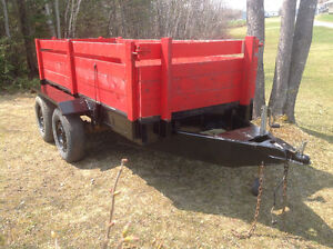 Very hevy duty tandem trailer 4'x10'