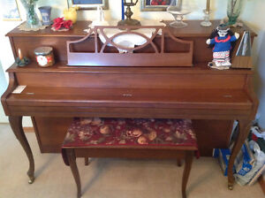 Gorgeous French Provincial piano and bench
