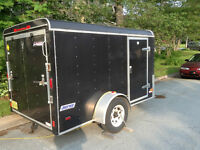 "2007 Pace America 10' 6"" Motorcycle  Trailer"