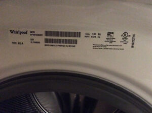 Whirlpool Duet Washer and Dryer *AS IS condition* Peterborough Peterborough Area image 4