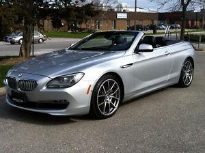 2012 BMW 650i CONVERTIBLE EXECUTIVE - NAV CAMERA NO ACCIDENT