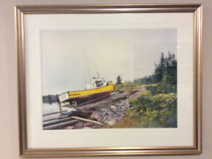 Liz Wilcox (CSPWC) original watercolour painting, large size