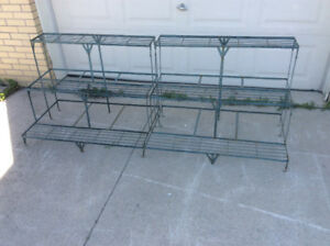 STAIRCASE PLANT STANDS.....COMMERCIAL PLANT STANDS