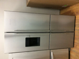 2016 Blomberg stainless steel 23.3 cu.ft. refrigerator