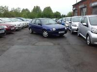 Toyota Corolla 1.3 SE Ltd Edn Blue 3-door hatchback