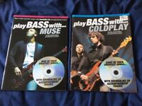 Play Bass With Coldplay And Muse Bass Guitar Tab Books