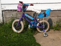 """12.5"""" girl's bike (age 3-5 approx) free or pay what you want"""