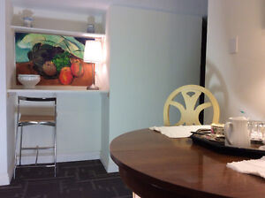 Annex Furnished, Downtown at University of Toronto. One bed apt.