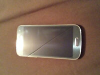 samsung galaxy s4 mini (unlocked) with 2 cases