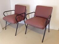 Set of 2 - Vintage Chairs