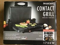 THREE-IN-ONE FUNCTION CONTACT GRILL