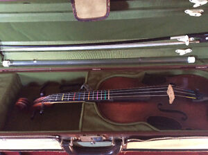 German Violin with case and bow
