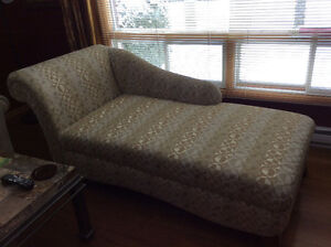 Couch,chaise lounger and matching pillows