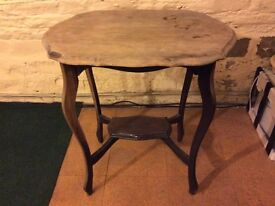 Antique occasional table for refurbishment