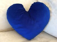 Plush Royal Blue Scatter Cushion / Pillow