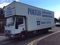 Iveco eurocargo 75e15 removal lorry no mot