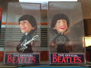 THE BEATLES 1964 REMCO DOLLS SET IN PLEXI BOXES...N.MINT