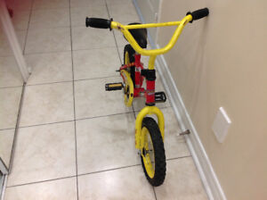 """kids  bike in very good cond working perfect ,12"""""""