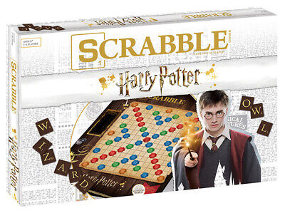 World of Harry Potter™ SCRABBLE® 11+ 2-4 players 30+ minutes
