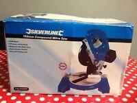 Silverline compound Mitre saw 810W