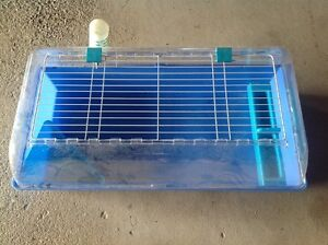 Small Animal Cage Suitable for Rabbits,Guinea Pigs,Dwarf Rabbits