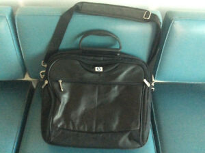 hp leather Laptop tablet iPad computer video game carry case