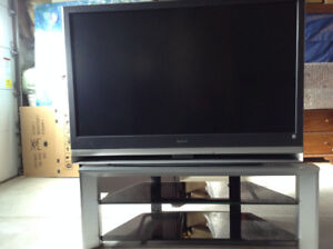55 Inch Sony TV With Stand
