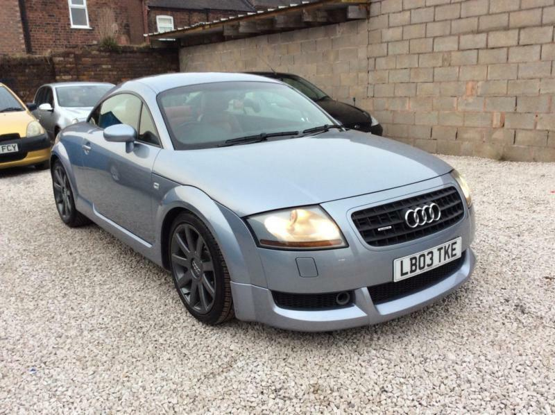 2003 03 audi tt quattro 1 8 coupe 225 bhp full abt bodykit 12 months mot in stoke on trent. Black Bedroom Furniture Sets. Home Design Ideas