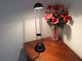 Black Desk Lamp Complete With Working Bulb