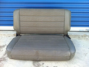 Jeep YJ Back Seat - Great Condition