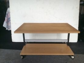 T/v or coffee table on casters