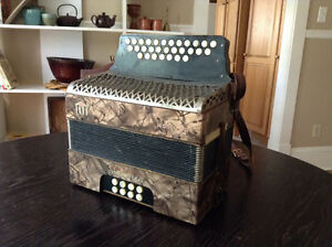 Hohner accordion - made in Germany in 1920
