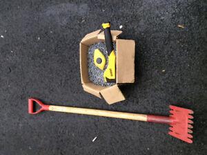 Roofing supplies shingle ripper  25lbgalv. Nails, dewalt stapler