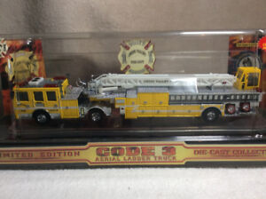 all 3  1/64 Die-cast firetrucks ONLY 3000 PRODUCED