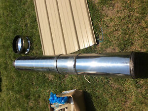 Stainless steel Chimney and cap