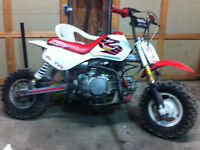 Z 50 converted 140cc