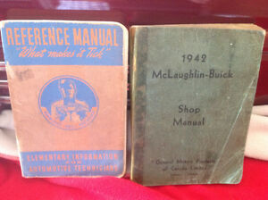 Old car books