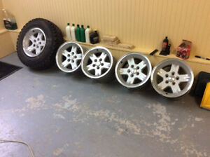 Roues Mags Jeep TJ
