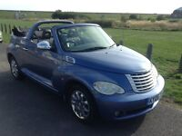 Chrysler PT cruiser convertible limited ed 2006 2.4