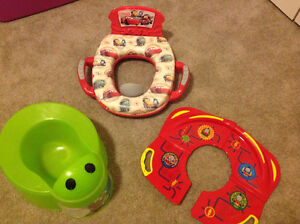 Potty and travelling potty seat