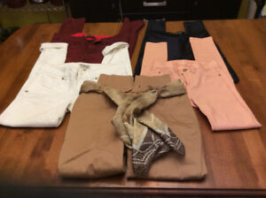 Five Pairs of Girls Jeans ( like new )