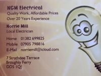 NGM Electrical Electrician Broughty Ferry