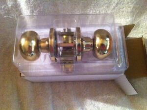 Brass Interior Passage Door  Handle.