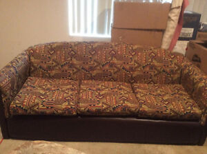 Couch and love-seat for sale only 75$