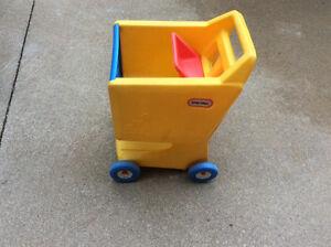 Little tike grocery cart