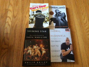 Timbaland, DMC (Darryl McDaniels), Earth, Wind & Fire Books