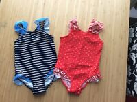 Girls swim suits age 5years