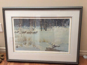 ROBERT BATEMAN LIMITED EDITION PRINT 1982