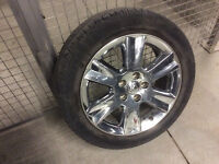 "4 Nice 19"" Rims with Used Tires."
