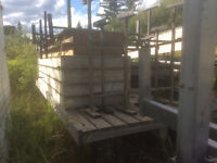 Docks and stands for sale